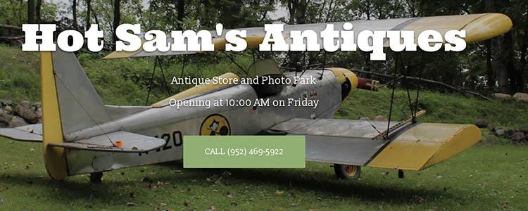 Hot Sam's Antique Airplane